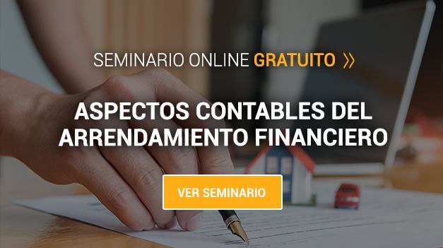 ASPECTOS CONTABLES DEL ARRENDAMIENTO FINANCIERO